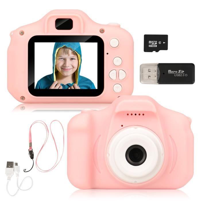 Appareil photo enfant,Nouvelle arrivée pas cher Rechargeable Photo vidéo lecture caméras enfants jouet pour - Type Kids Camera