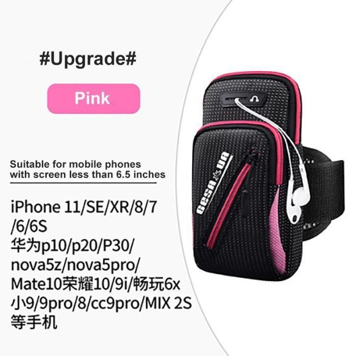 Sac de Sport à bras pour téléphone portable, sacoche de poignet multifonctionnelle inclinée étanche pour homme PK24676480