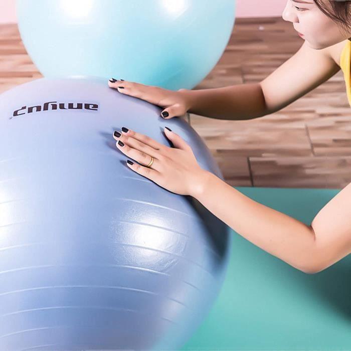 G Ballon dexercice Pilates Ball Dynamic Ball Yoga Ball Gym Ball Fitness Ball 65Cm 75 Cm Therapy Ball Incluant Pump AntiBurst Sea289