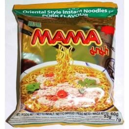 Carton 30 Soupes Nouilles Mama Porc 60g