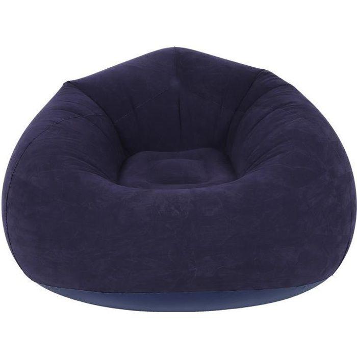 Chaise longue gonflable, canapé gonflable, flocage ergonomique haut de gamme conçu pour la cour extérieure jardin balcon salon