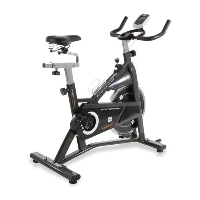 Vélo de biking Khronos Basic II 10006327. Frein à friction. 20 kg. Courroie Poly-V Noir