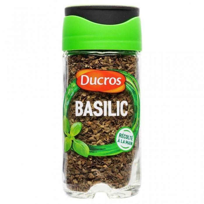 Ducros Basilic avec Opercule Fraîcheur 11g (lot de 3)