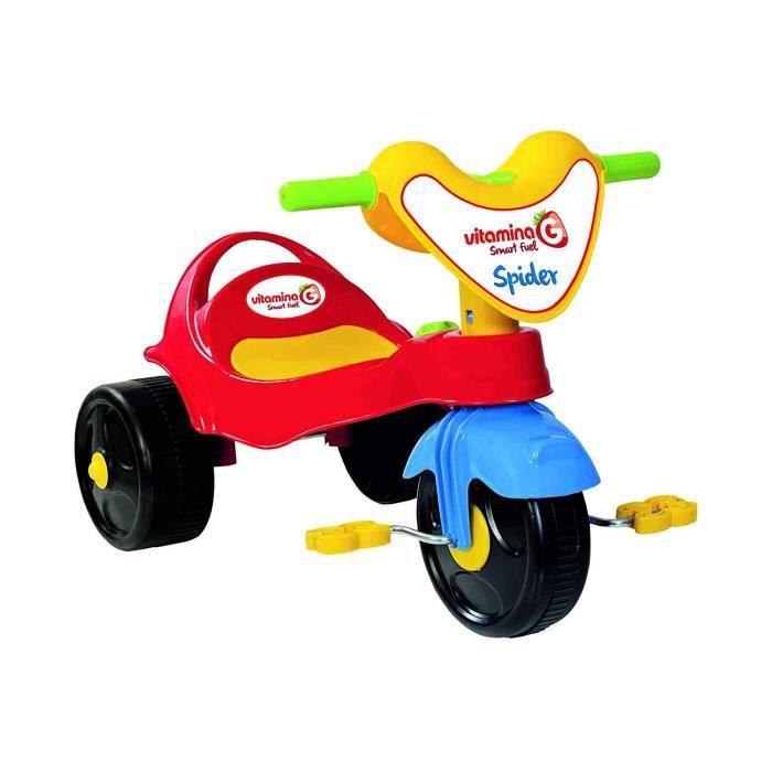 tricycle en plastique, Vitamine G 05336 -spider-