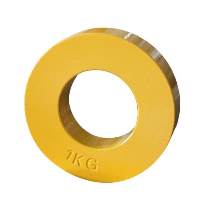 Standard Fractionnée Plaques Changement Faible Poids Disques Fraction Plaque Supplémentaires Micro Poids pour Jaune 1kg