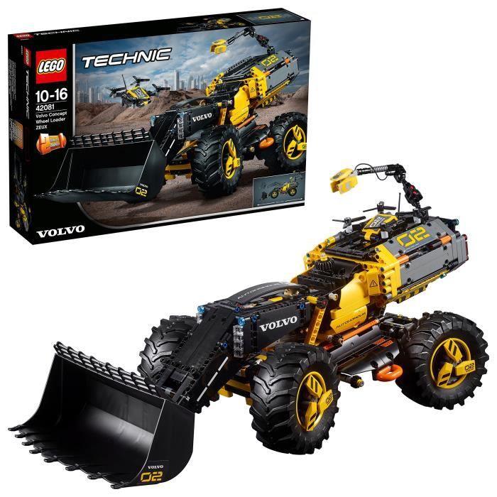 Lego 42081 Technic Volvo Concept pneus zeux Toy, modèle 2-en-1, jouets de construction pour enfants 3D31ZD