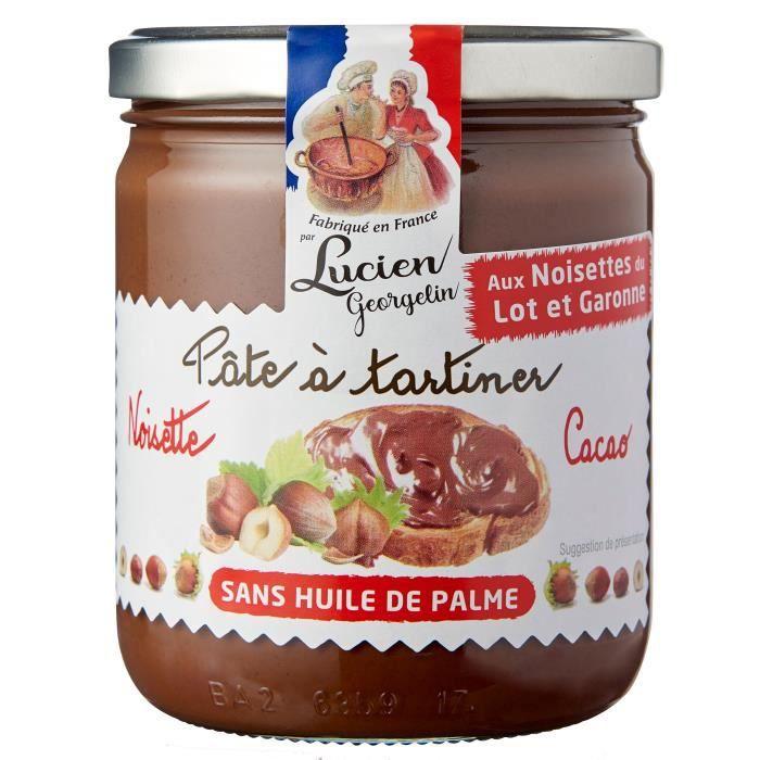 Pâte à tartiner noisette/cacao 400g LES RECETTES CUITES AU CHAUDRON