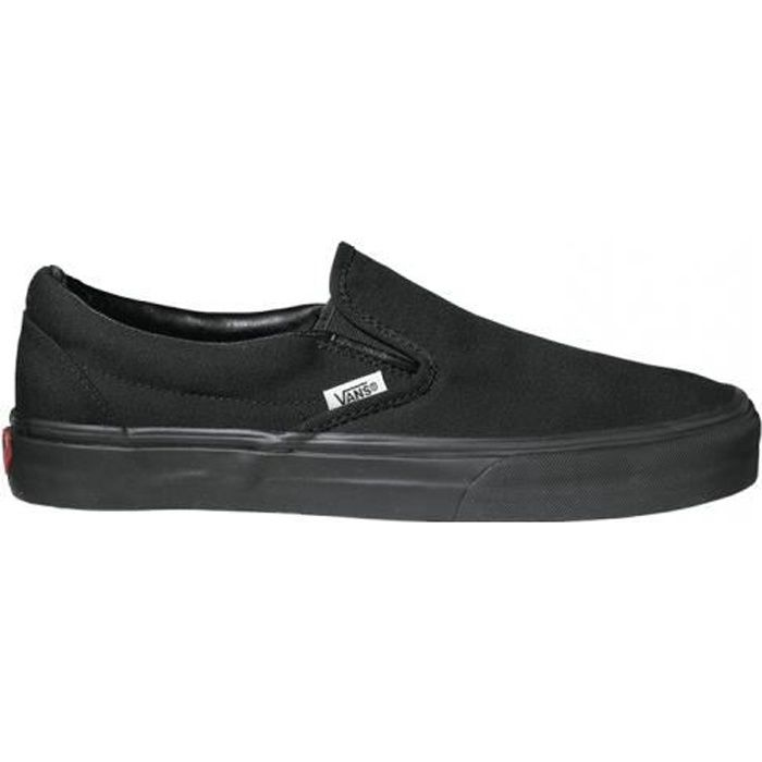 VANS Baskets UA Classic slip on Noir Mixte