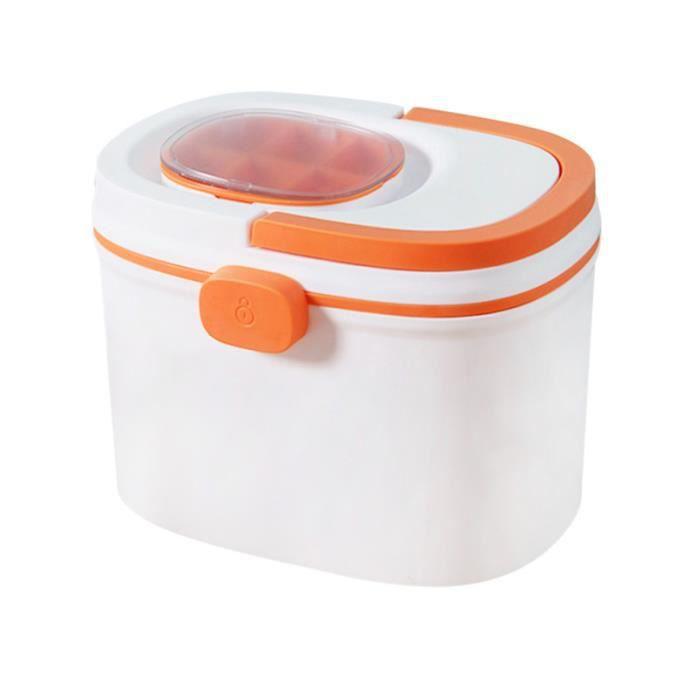 1 Pc Grande Capacité Portable Boîte De Rangement Des Médicaments Bistratal Premiers TAPIS DE SOL - TAPIS DE GYM - TAPIS DE YOGA