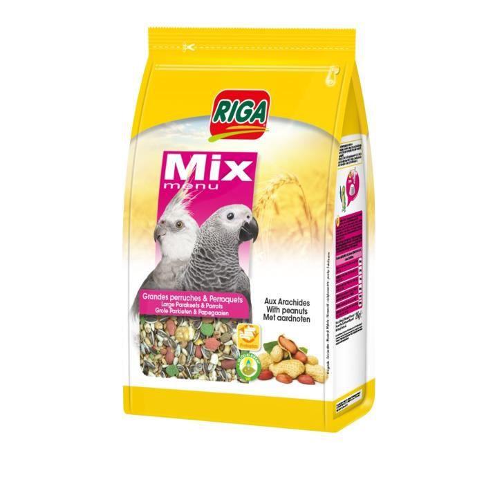 RIGA Menu mix - 2 Kg - Pour perroquets