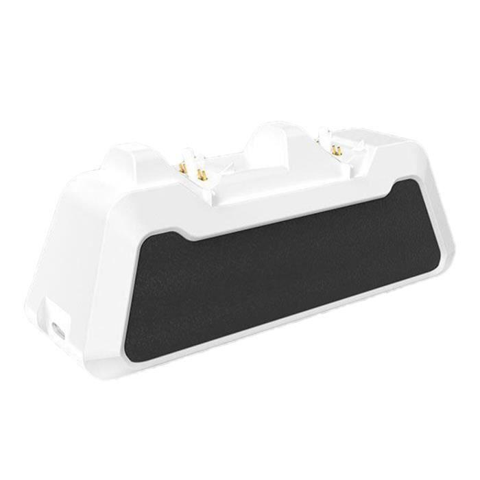 LED Lumière Contrôleur de Jeu Rapide Chargeur Puissance Rapide Charging Dock Station pour Sony PlayStation PS5 Contrôleurs