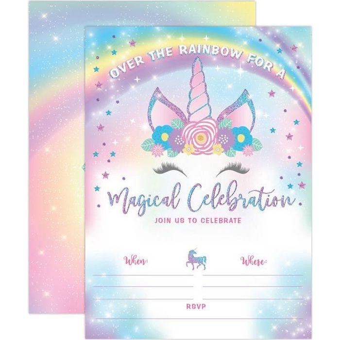 10 Personnalisé Princesse Fée Fête D/'anniversaire Photo invitations N84