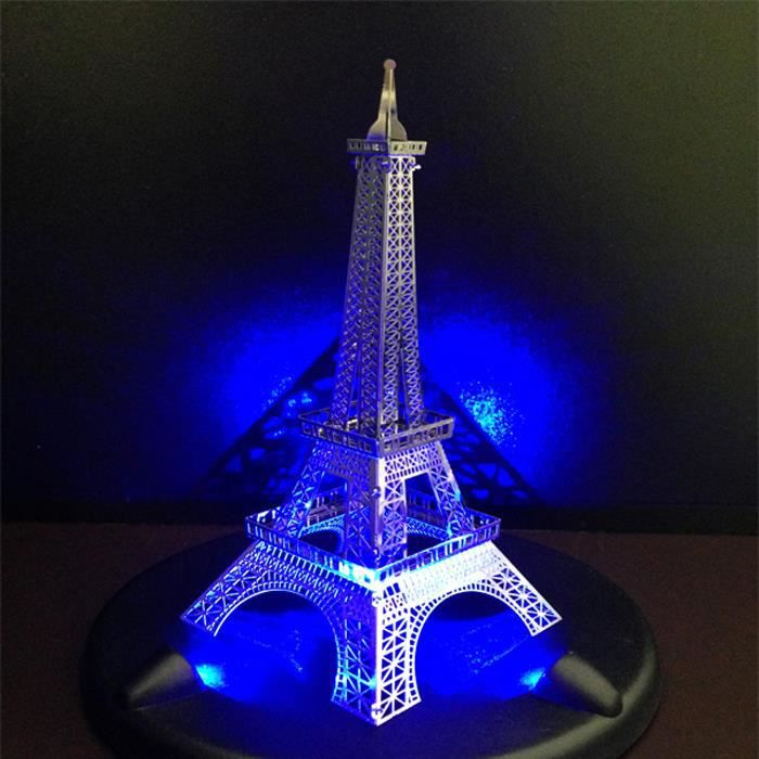 puzzle 3d tour eiffel puzzle jouets ducatifs avec base de led achat vente puzzle cdiscount. Black Bedroom Furniture Sets. Home Design Ideas