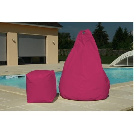 pouf poire fushia achat vente coussin d 39 ext rieur pouf poire fushia cdiscount. Black Bedroom Furniture Sets. Home Design Ideas