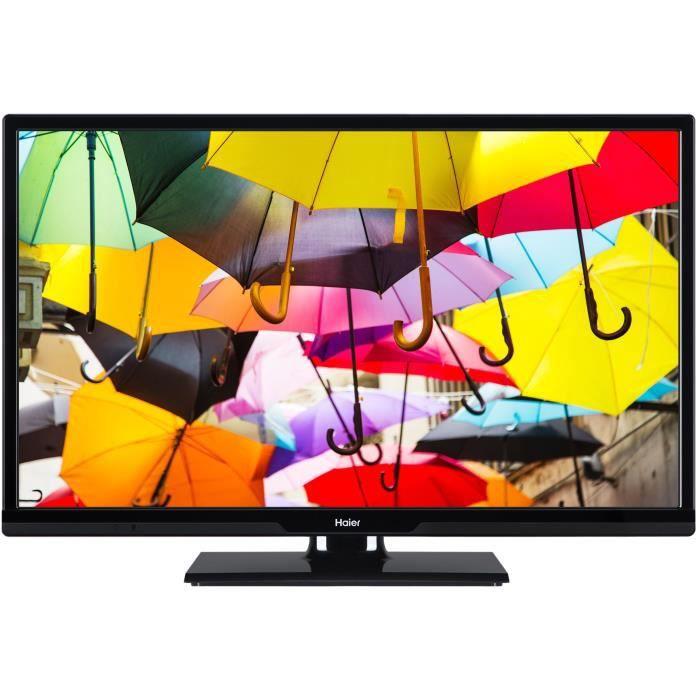 """Téléviseur LED HAIER LDF39V100 TV LED Full HD - 39"""" (98cm) - 2 x"""