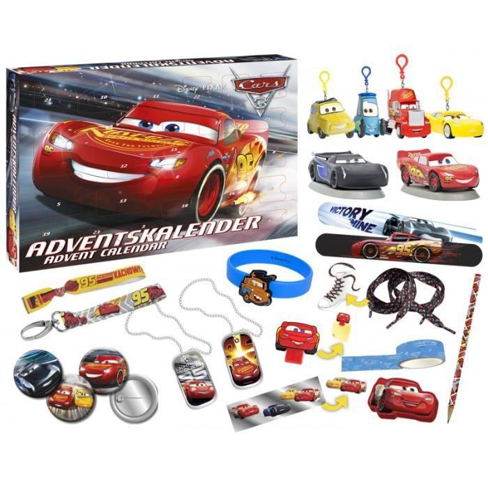 Calendrier De L Avent Spiderman.Cars Calendrier De L Avent
