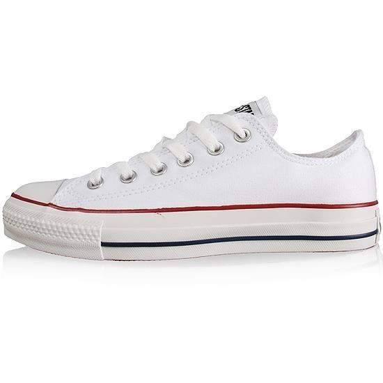 converse basse blanche intersport