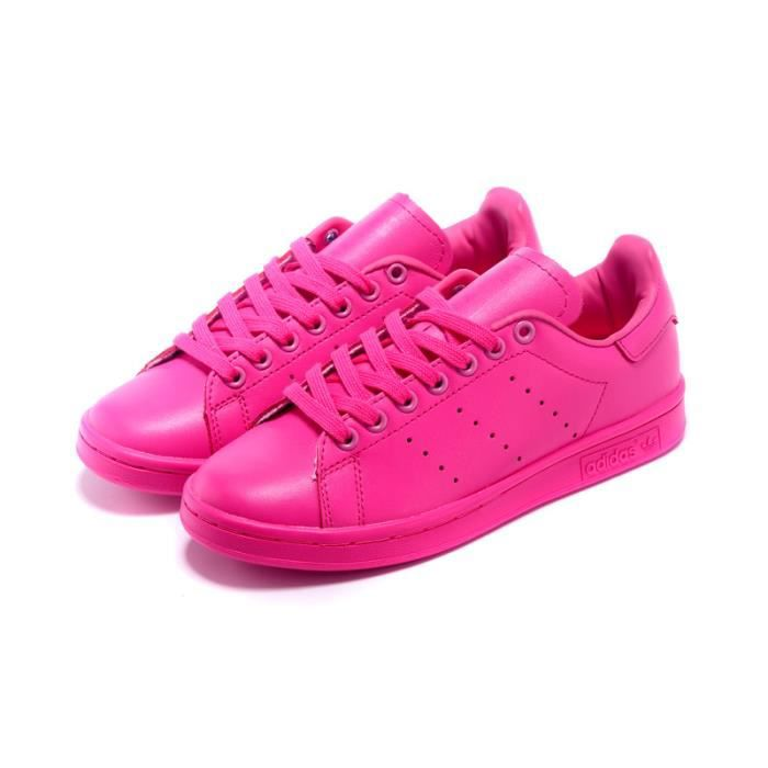 adidas stan smith rose fluo. Black Bedroom Furniture Sets. Home Design Ideas