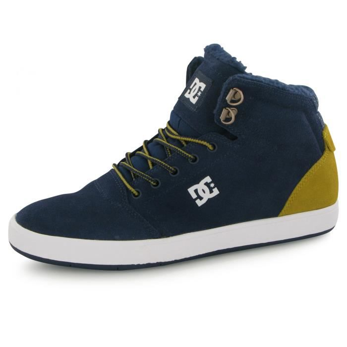 Dc Shoes Crisis High Wnt bleu, baskets mode homme
