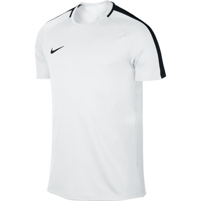 289e826b802 NIKE T-shirt de football Academy Training - Homme - Blanc Blanc ...