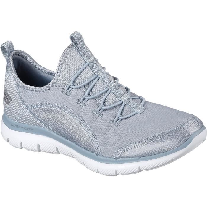 Skechers Flex Appeal 2.0 Mixed Media Womens Shoes
