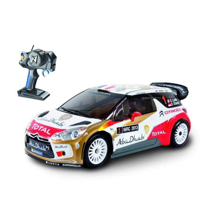 voiture radiocommand e citro n ds3 wrc 2013 abu dhabi achat vente voiture camion cdiscount. Black Bedroom Furniture Sets. Home Design Ideas