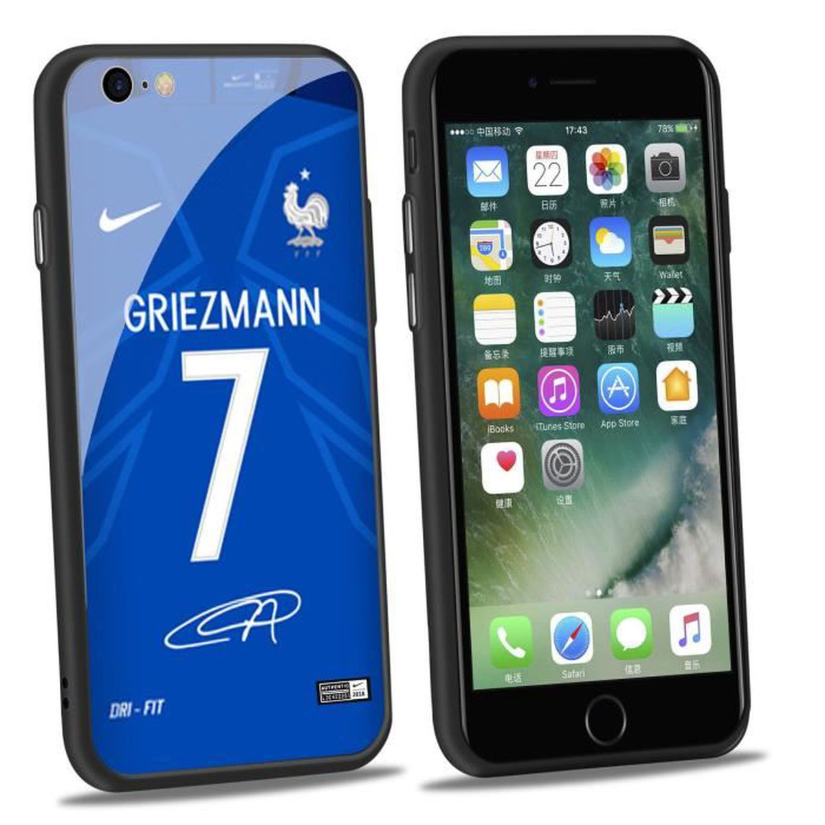 coque griezmann iphone 8