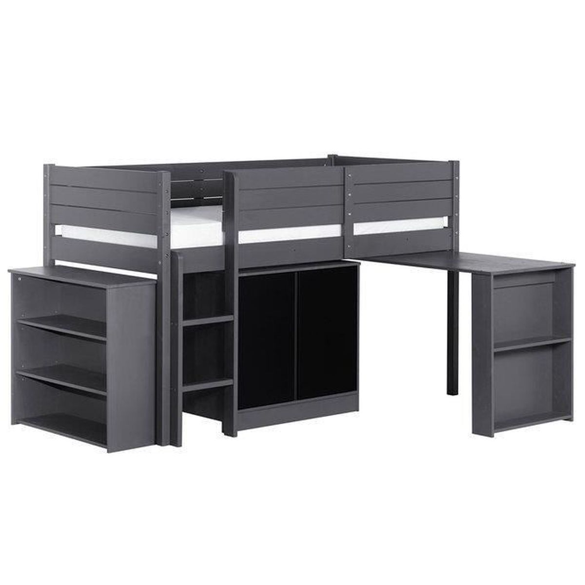 lit enfant mi hauteur achat vente lit enfant mi. Black Bedroom Furniture Sets. Home Design Ideas