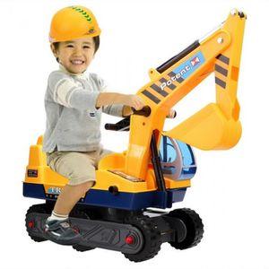 PORTEUR - POUSSEUR enfants jouets Caterpillar excavatrice camion joue