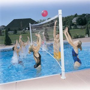 FILET VOLLEY-BALL Filet De Volley-Ball Kit Pro Volly Rénovation pisc