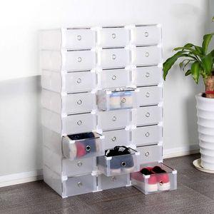 BOITE DE RANGEMENT Lot de 24 boîtes de rangement Boîtes à chaussures