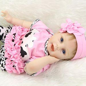 POUPÉE 22 Pouce Silicone Bébés Reborn Réaliste Princesse