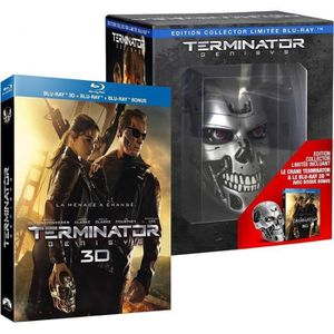 BLU-RAY FILM Terminator Genisys [édition collector Endoskull Bl
