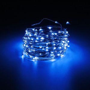 GUIRLANDE LUMINEUSE INT 20M 200 LED Guirlande Lumineuse Extérieure Fête DC