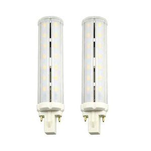 AMPOULE - LED LuxVista 2-pcs 2 pins 13W G24 Culot Ampoule LED Bl