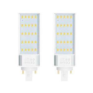AMPOULE - LED Bonlux Lot de 2 ampoules LED fluorescentes G24 2 b