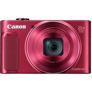 APPAREIL PHOTO COMPACT CANON PowerShot SX620 Rouge - Appareil photo numér