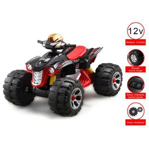 QUAD - KART - BUGGY CRISTOM ® Monster quad electrique , 12 volts