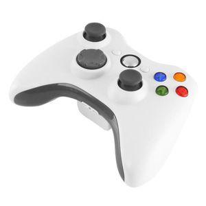 MANETTE JEUX VIDÉO Manette de jeu sans fil contrôleur de jeu Xbox 360