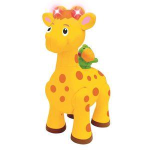 BOÎTE À FORME - GIGOGNE Giraffe jouet interactif mélodies et lumières pour