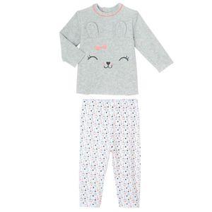 4 nouveaux-nés et nouveau-né tailles Rose Vichy coeurs bébé fille pantalon chemise vêtements