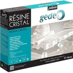 RÉSINE CRÉATIVE PEBEO Kit Résine Cristal 750 ml