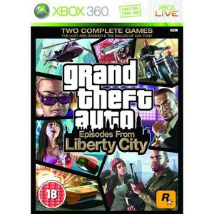 JEUX XBOX 360 Grand Theft Auto: Episodes from Liberty City Xb…
