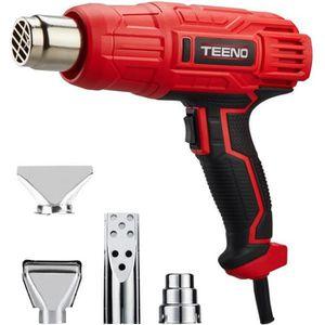 DÉCAPEUR TEENO® Décapeur thermique 2000W avec 4 accessoires