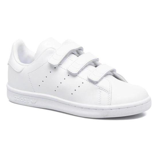 Adidas stan smith à scratch taille 36 blanc BLANC - Achat ...