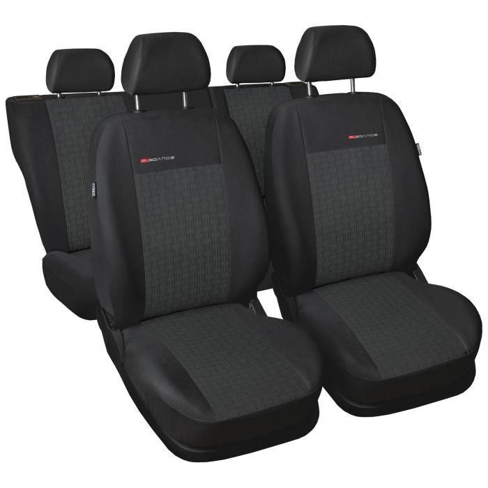 Housse De Siège Voiture Auto convient pour Chevrolet Aveo gris Elegance P1