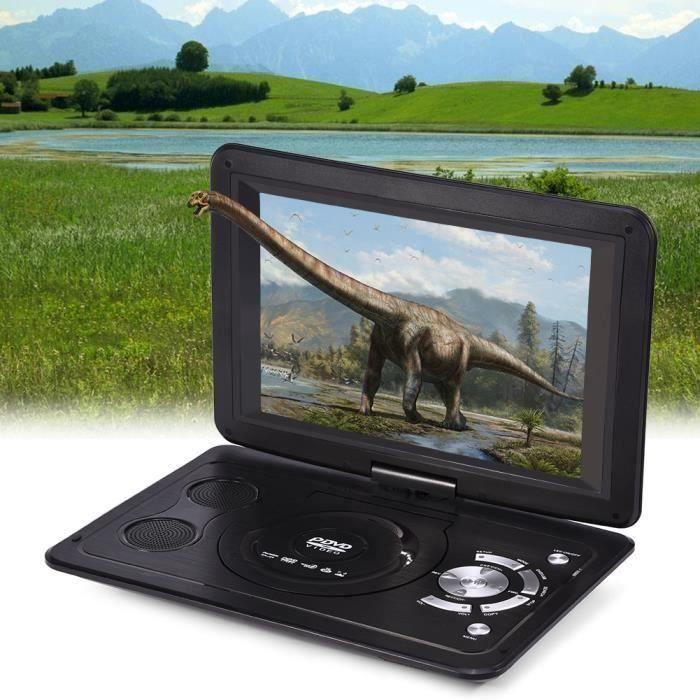 13.9 HD TV Portable Lecteur DVD 16: 9 Écran LCD 110-240 V
