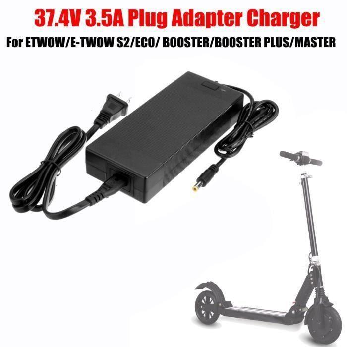 37.4V 3.5A Chargeur Original Prise Adaptateur pour Trottinette E-TWOW S2 ECO BOOSTER PLUS MA STER EU La60312