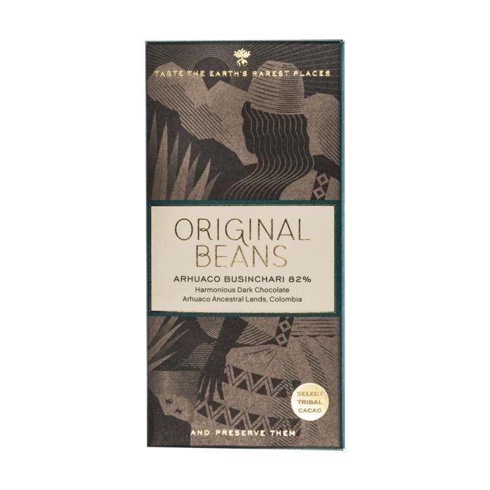 ORIGINAL BEANS Chocolat Arhuaco 82% Colombie 70 g