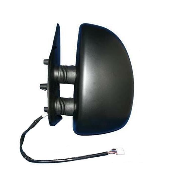 Rétroviseur noir, électrique, dégivrant pour CITROEN JUMPER de 2002 à 2005